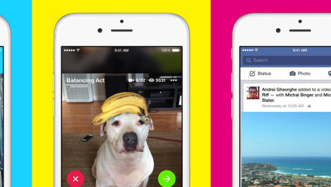 "Facebook neue Video-Sharing-App ""Riff"" ist kaum innovativ"