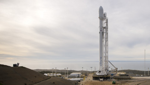 Heute Nacht versucht SpaceX erneut die Raketenlandung auf See