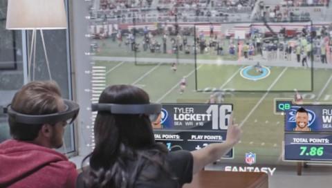 HoloLens: So stellt sich Microsoft die Sportschau der Zukunft vor