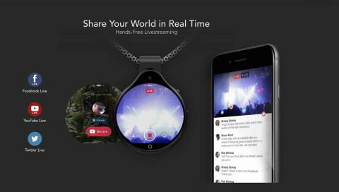 Livestream-Kamera als Halskette: When sharing isn't caring
