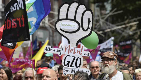So organisieren sich die G20-Gegner im Netz