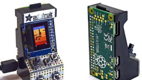 Spielt Pacman und Donkey Kong auf dem wohl kleinsten Automaten