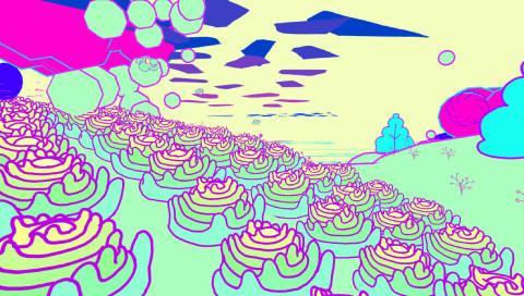 """Pulsierende Blumen, tanzende Landschaften: """"Gardenarium"""" ist Frühlings-Game und Drogentrip zugleich"""