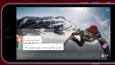 GoPro verspricht Live-Streaming von der Piste — mit Periscope