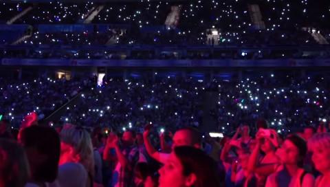 So wirst du mit deinem Smartphone Teil der Lightshow!