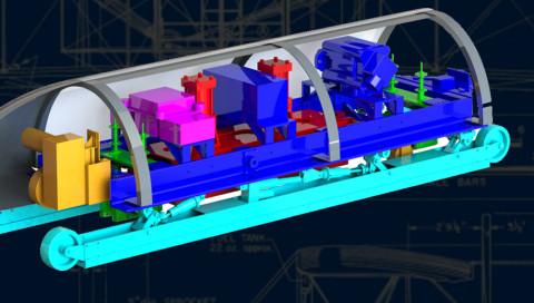 Hyperloop-Competition: MIT-Studenten entwerfen die Kapseln für den 1200-km/h-Trip