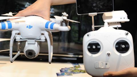 Die chinesische Regierung erhält Zugriff auf Drohnen-Bilder