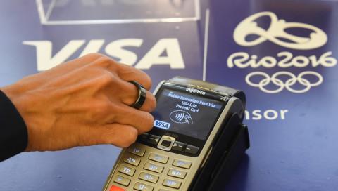 Visa hat einen Bezahl-Ring für Olympia entwickelt