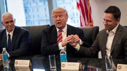 """""""Ruft mich jederzeit an"""": Trump sucht Nähe zu den Tech-Größen"""