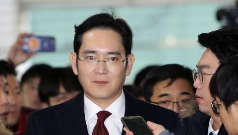 Ein Korruptionsskandal gefährdet Samsungs Führung