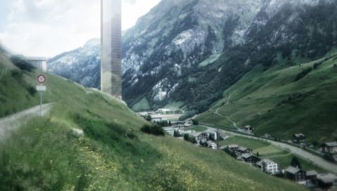 In einem Schweizer Dorf soll bald Europas höchstes Gebäude stehen