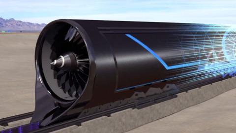 So könnte Elon Musks Highspeed-Zug Hyperloop aussehen