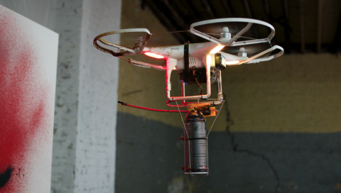 Der Street-Art-Künstler Katsu verrät, wie man eine Graffiti-Drohne baut