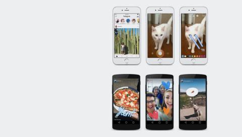 Instagram macht jetzt einen auf Snapchat