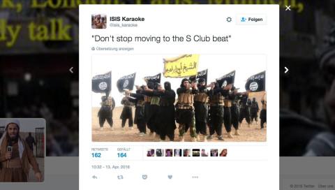 Was hilft gegen IS-Propaganda im Netz? Terror-Satire liken und teilen