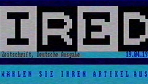 So hätte WIRED.de in den Achtzigern ausgesehen: Videokünstler Jo Luijten im Interview