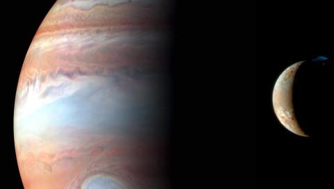 Amateur-Astronomen filmen einen Jupitereinschlag