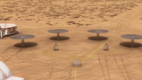 So möchte die NASA Atomkraft auf den Mars bringen