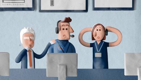 In diesem Video erklären knuffige Knetfiguren die Mission der Rosetta-Sonde