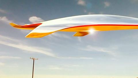 So würde ein Raumschiff made by Ferrari aussehen