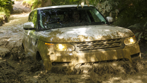 Off-Road mit dem autonomen Jaguar Land Rover