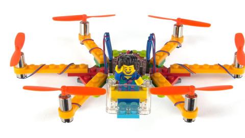 Der Traum von der Lego-Drohne wird wahr