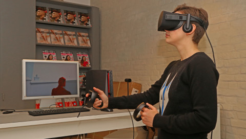 Oculus Touch im Test: VR fühlte sich nie so real an