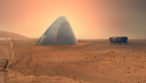 Forscher entwickeln den perfekten Beton für den Mars