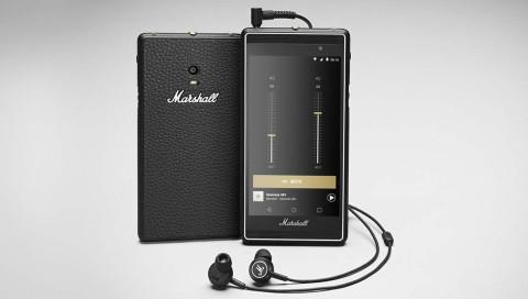 Marshall bringt Smartphone mit Frontlautsprechern und Equalizer auf den Markt