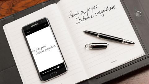 IFA16 / Montblancs Augmented Paper hat Probleme mit unserer Handschrift