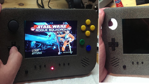 Hack of the Week / Ein N64-Handheld wie aus dem Bilderbuch