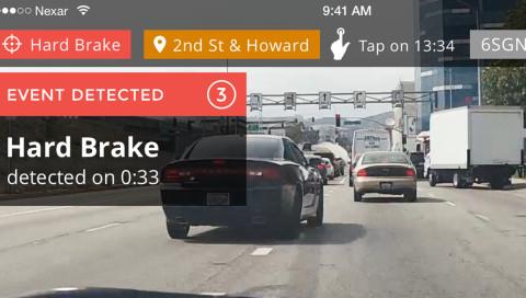 Diese App überwacht schlechte Autofahrer und speichert sie in einer Datenbank