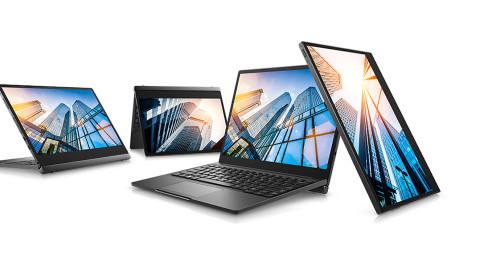 Latitude 7285: Dells drahtlos ladbarer Laptop mit einem Haken
