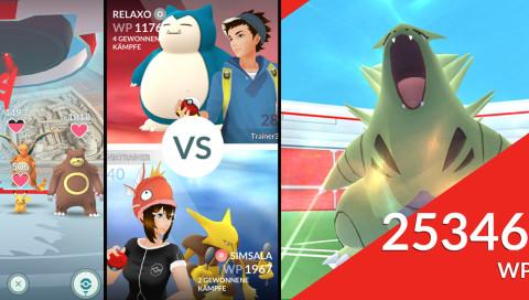 """Das """"Pokémon Go"""" Arena-Update lässt euch gegen Mega-Monster kämpfen"""