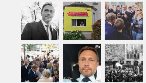Wie sehen die deutschen Spitzenkandidaten auf Instagram aus?