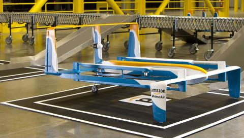 Amazon will Päckchen per Fallschirm ausliefern