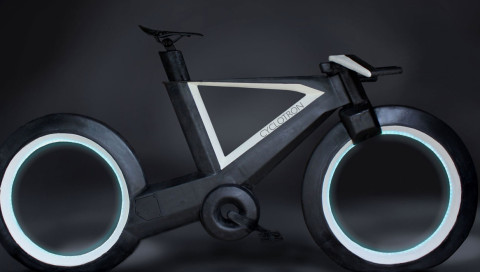Dieses Fahrrad kommt geradewegs aus TRON