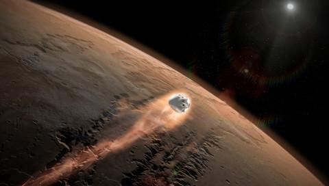SpaceX will schon 2018 eine unbemannte Marsmission angehen