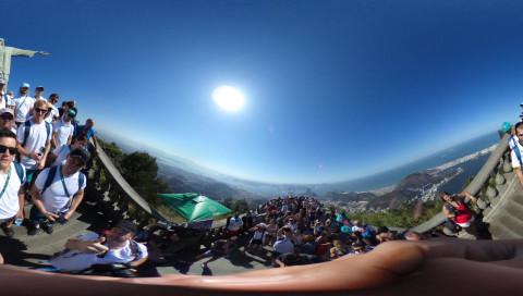 Rundblick in Rio: Die Olympischen Spiele in Virtual Reality