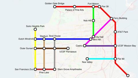 Warum Radweg-Karten mehr wie U-Bahn-Pläne aussehen sollten