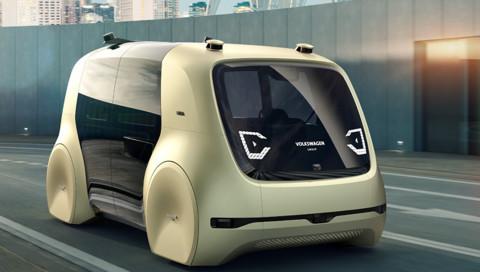 Das erste selbstfahrende Auto von VW ist eine Entertainment-Kutsche
