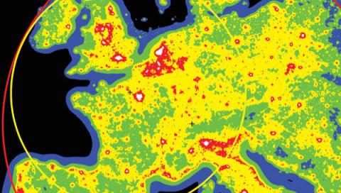 Ein Drittel der Menschheit kann die Milchstraße nicht mehr sehen