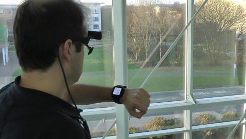 Die nächste Smartwatch-Generation wird mit dem Auge bedient