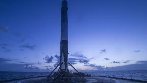 SpaceX schafft die Landung auf See – die Reaktionen