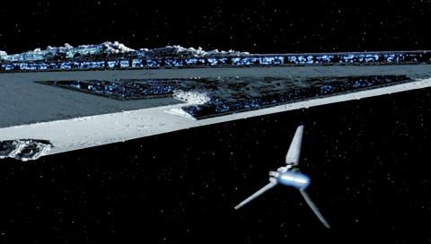 """""""Star Wars"""" über New York: So groß ist Darth Vaders Sternenzerstörer wirklich"""