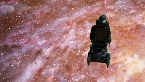 Stephen Hawking covert Monty Python und ballert sich durchs All