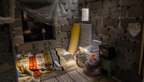 Wer bei diesem IKEA einkauft, sieht eine Wohnung aus dem syrischen Krieg
