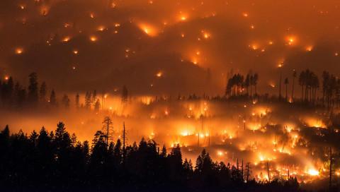 Diese Fotoserie zeigt die verheerende Schönheit der Waldbrände in Kalifornien