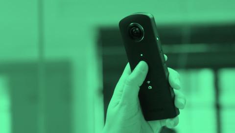 Ricoh Theta S: Die nicht ganz perfekte 360-Grad-Kamera