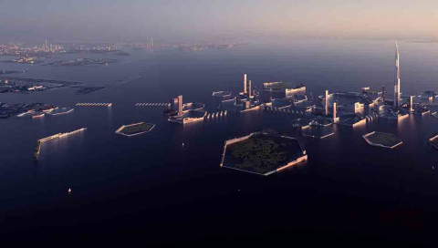 Dieser Bauplan für Tokio sieht aus wie aus einem Anime